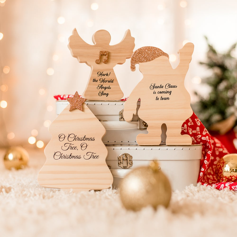 Image of Wooden Christmas Sets
