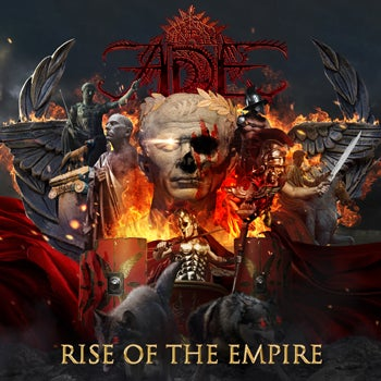 Image of RISE OF THE EMPIRE DIGIPACK CD