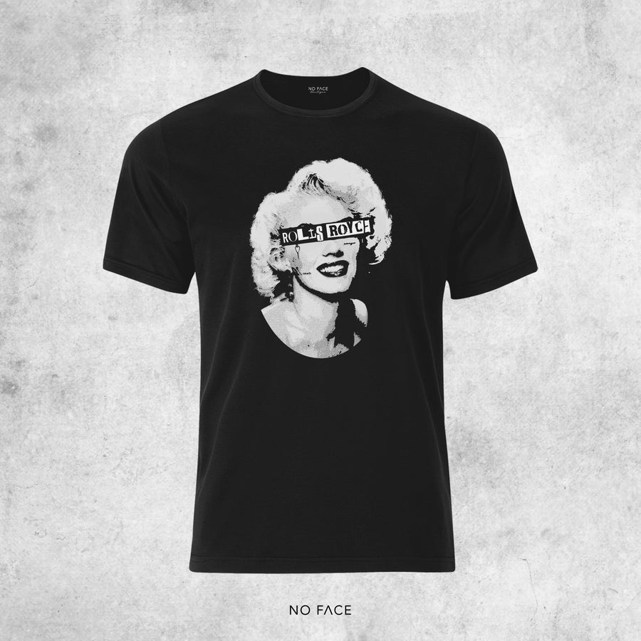 "Image of T-SHIRT ACHILLE LAURO ""ROLLS ROYCE"" - Marilyn Monroe"