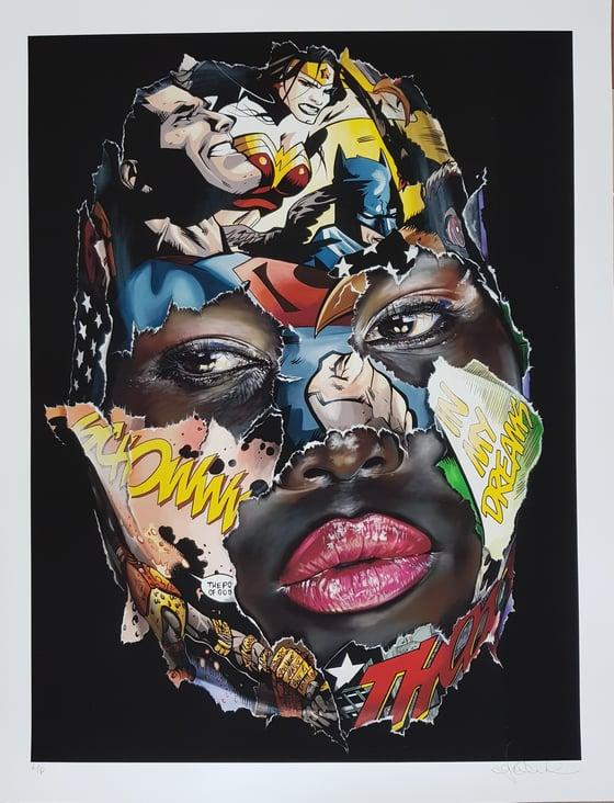 """Image of SANDRA CHEVRIER - LA CAGE ET LE POUVOIR DES DIEUX"""" - LTD ED 15 - 26.6CM X 21CM"""