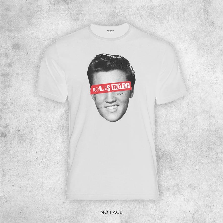 "Image of T-SHIRT ACHILLE LAURO ""ROLLS ROYCE"" - Elvis Presley"