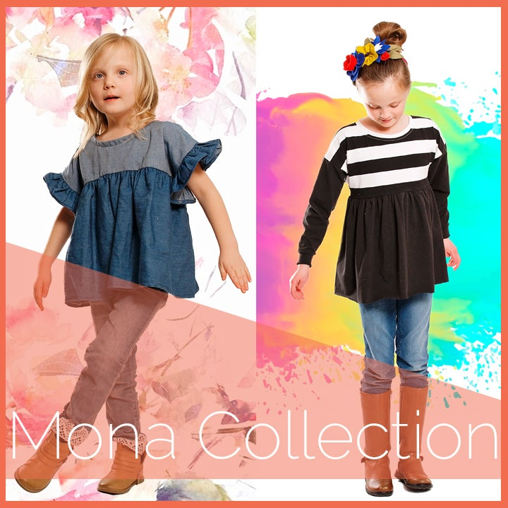 Image of Mona Top&Dress Bundle