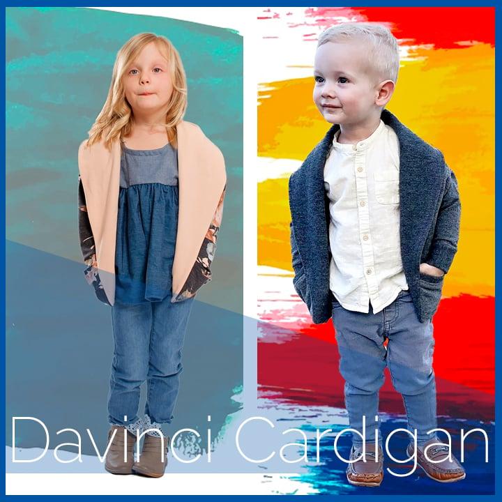 Image of DaVinci Cardigan (child)