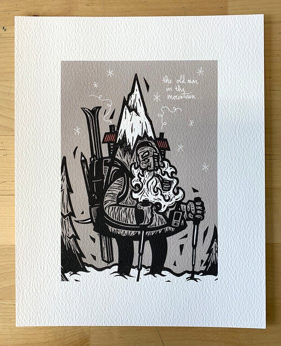 Image of Old Man in the Mountain