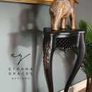 Image 2 of Black & copper plant stand