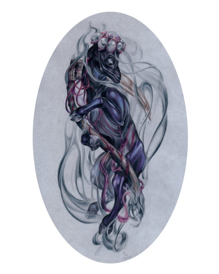 """Image of """"The Imp of the Perverse"""" Giclee Print"""