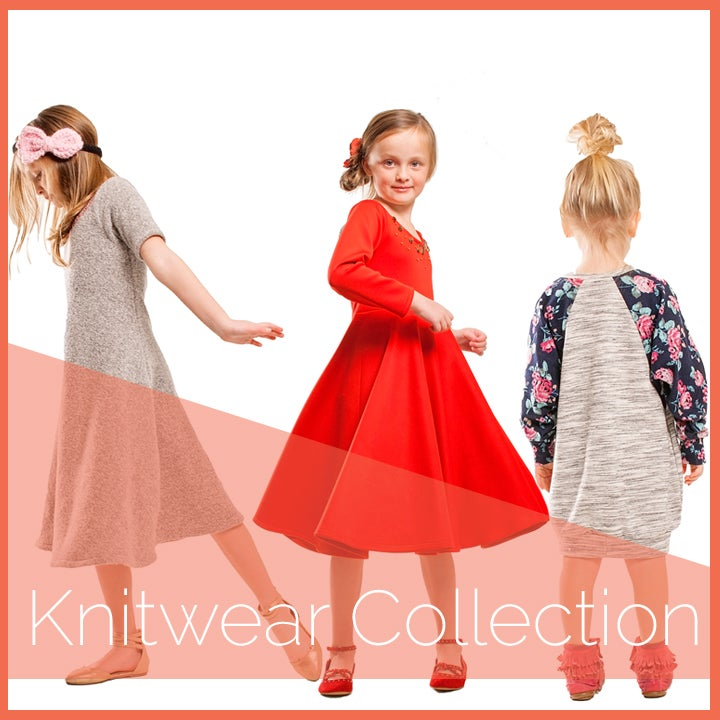 Image of Girls Knitwear Collection