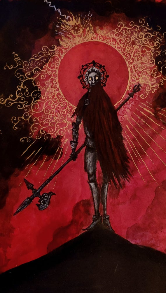 Image of Crimson be thy mantle