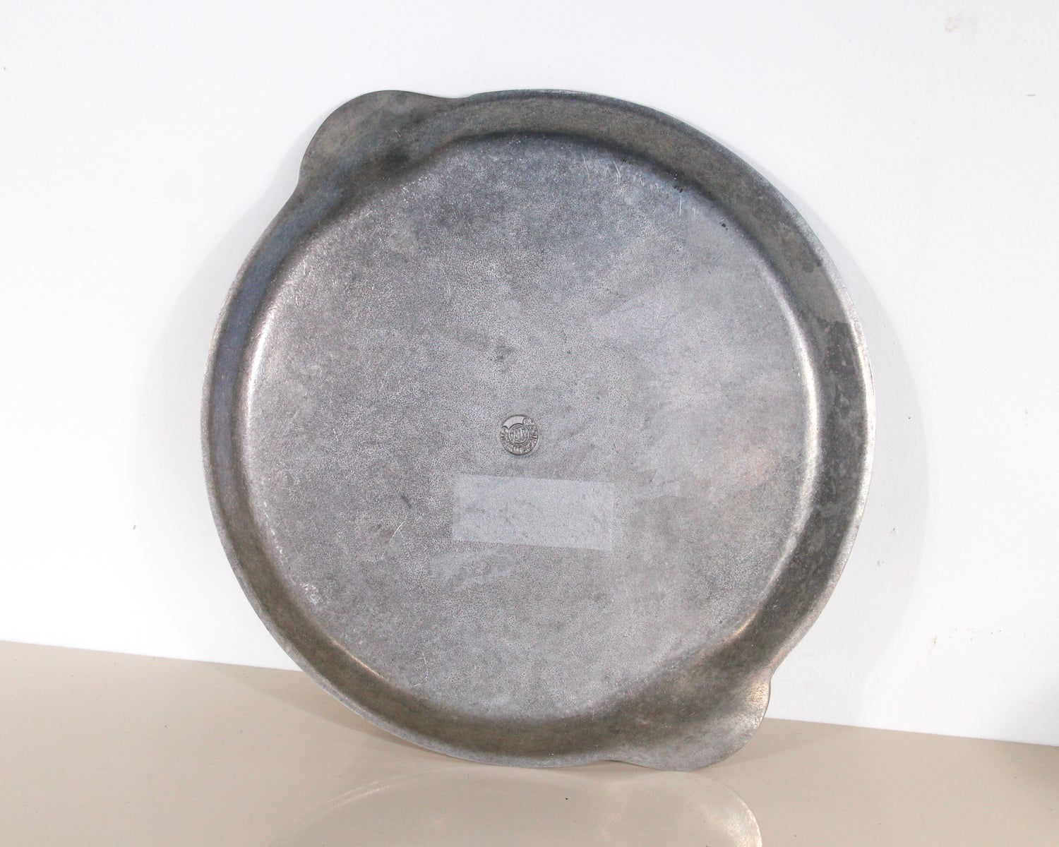 Image of Pewter Shell Serving Plate