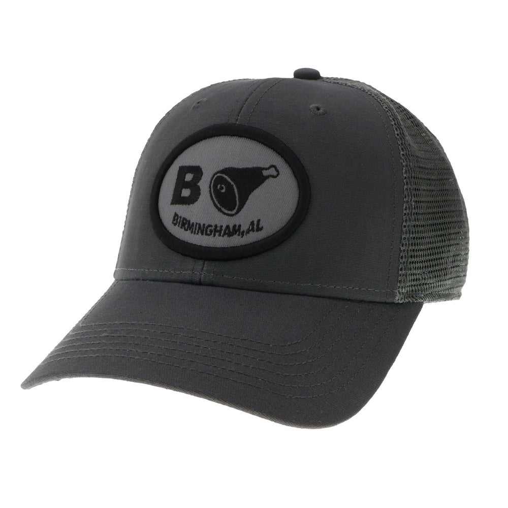 Image of Classic Grey Snapback Trucker