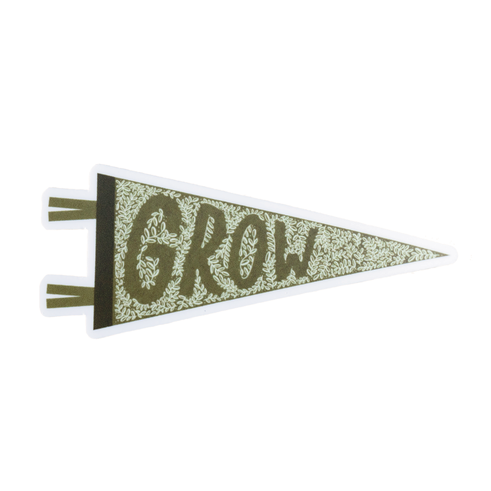 Image of GROW Sticker