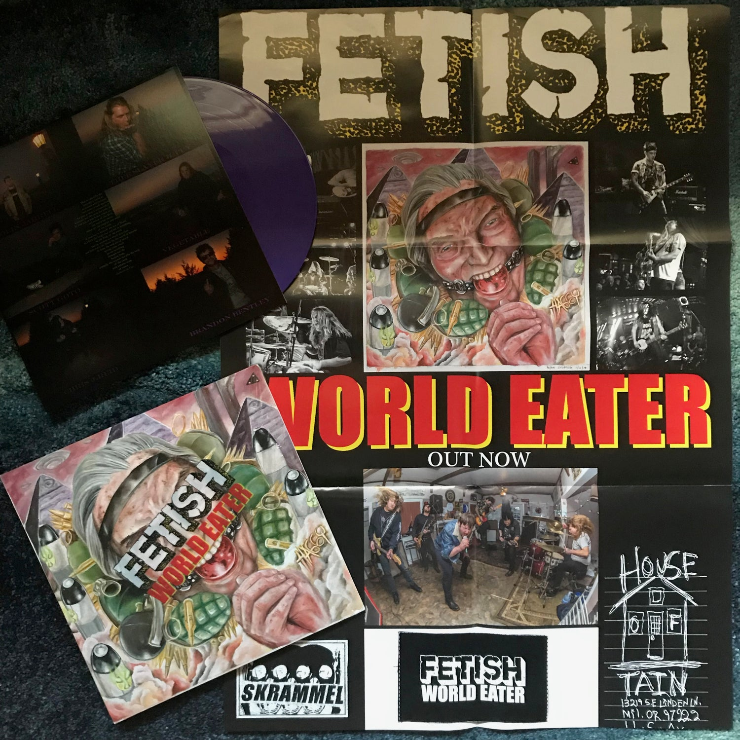 """Image of FETISH-""""World Eater"""" IMPORT & DOMESTIC VERSIONS!"""