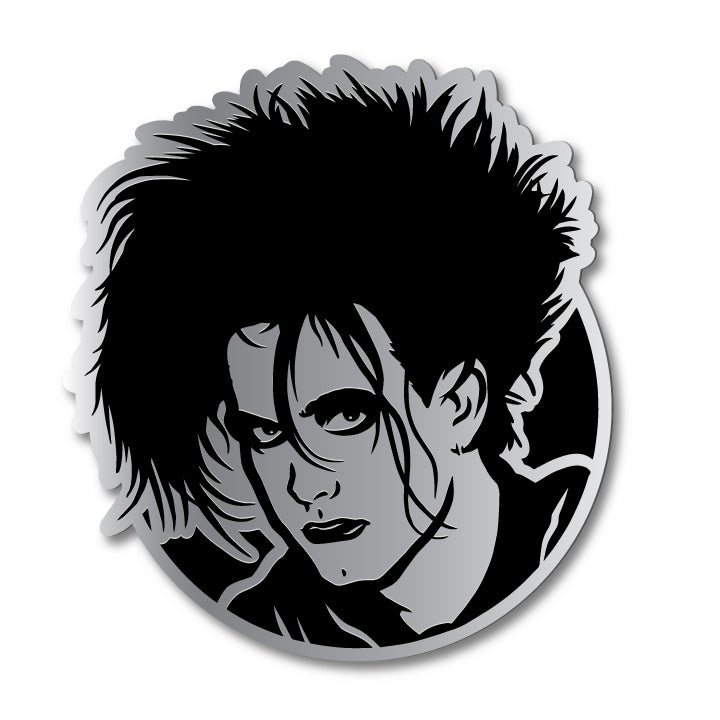 Image of Silver Robert Enamel Pin