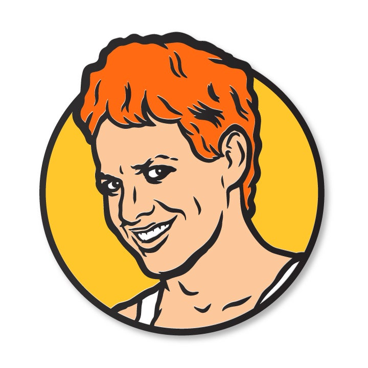 Image of Danny Enamel Pin