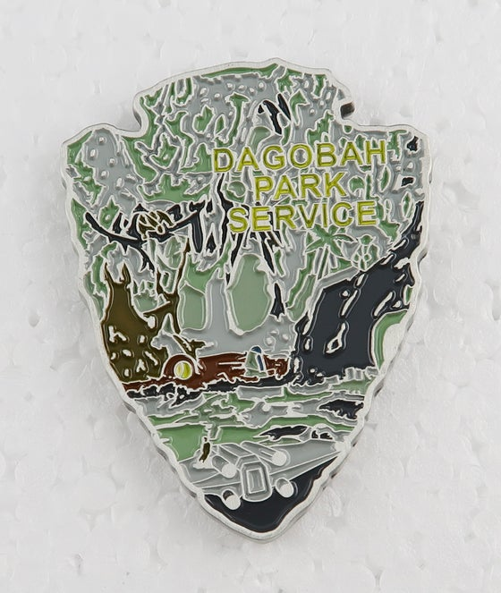 Image of Dagobah  Park Service Challenge Coin 1.75""