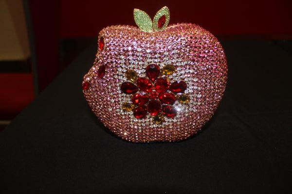 Image of Forbidden fruit bling clutch