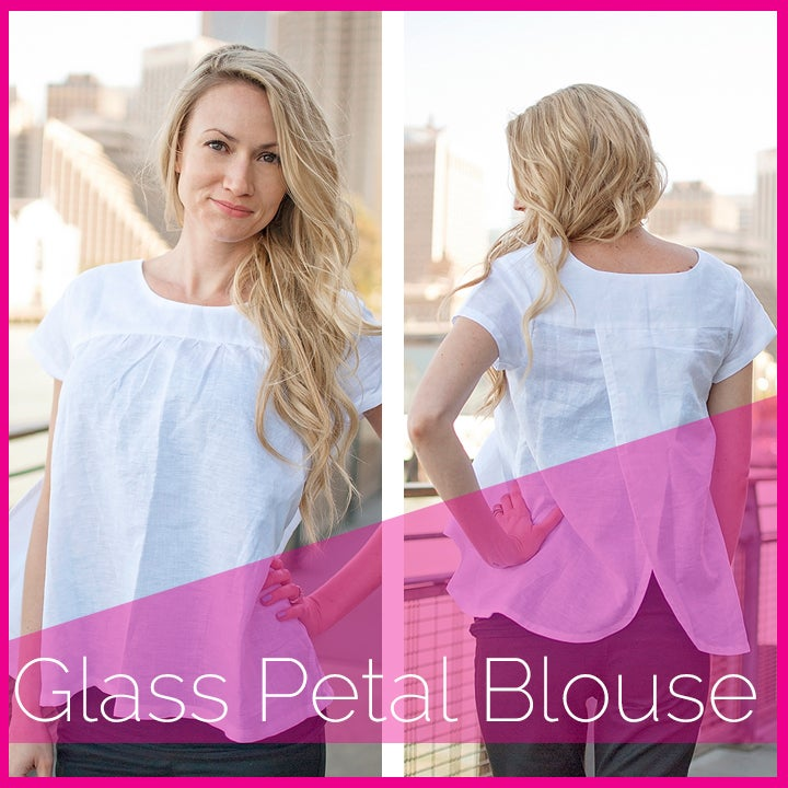 Image of The Glass Petal Blouse
