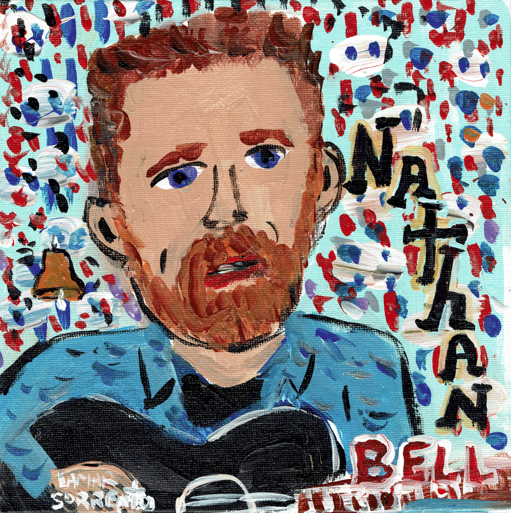 """Image of Nathan Bell - Heavy as a Talent (Billy Shakespeare's Blues) b/w To Each of Us (a shadow) (Yellow 7"""")"""