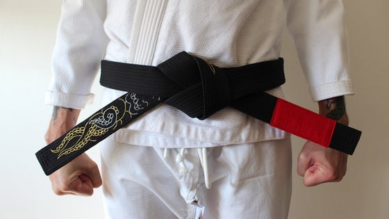 Image of KRAKKEN クラクケン DIVINE Black belt