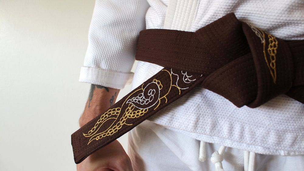 Image of KRAKKEN クラクケン DIVINE Brown belt