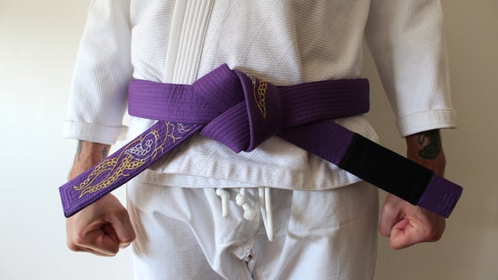 Image of KRAKKEN クラクケン DIVINE Purple belt