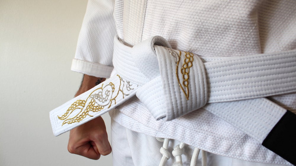 Image of KRAKKEN クラクケン DIVINE White Belt