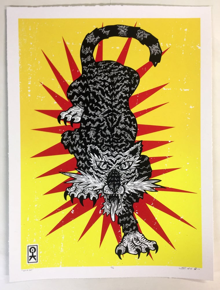 Image of Wild Cat (FREE SHIPPING*)
