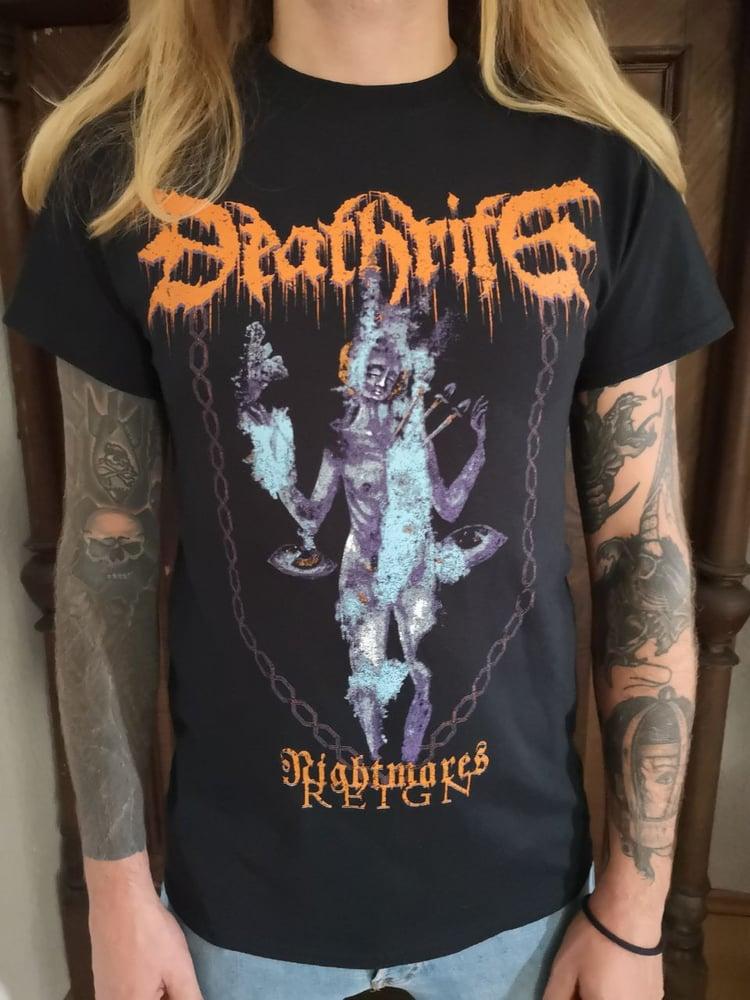 "Image of DEATHRITE - ""Nightmares Reign"" shirt"