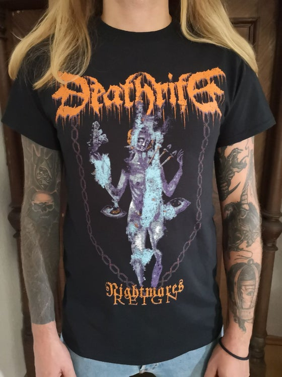 "Image of DEATHRITE - ""Nightmares Reign"" shirt"
