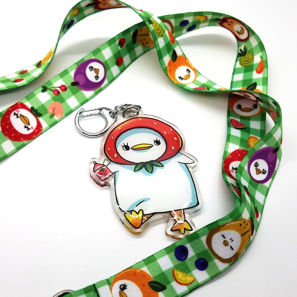 Image of Fruit Hat Eli Charm and Lanyard