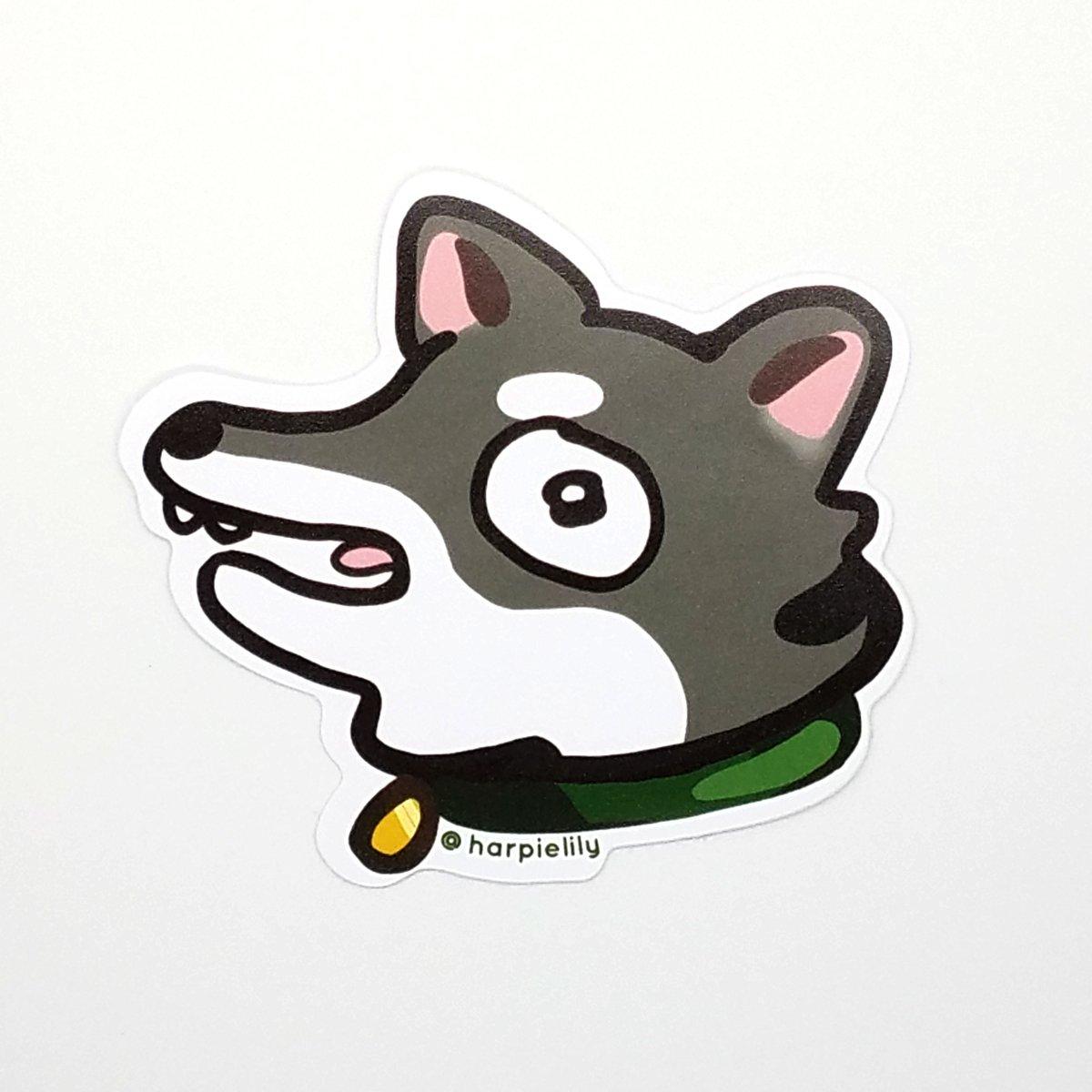 Image of Hyper Doggo vinyl sticker