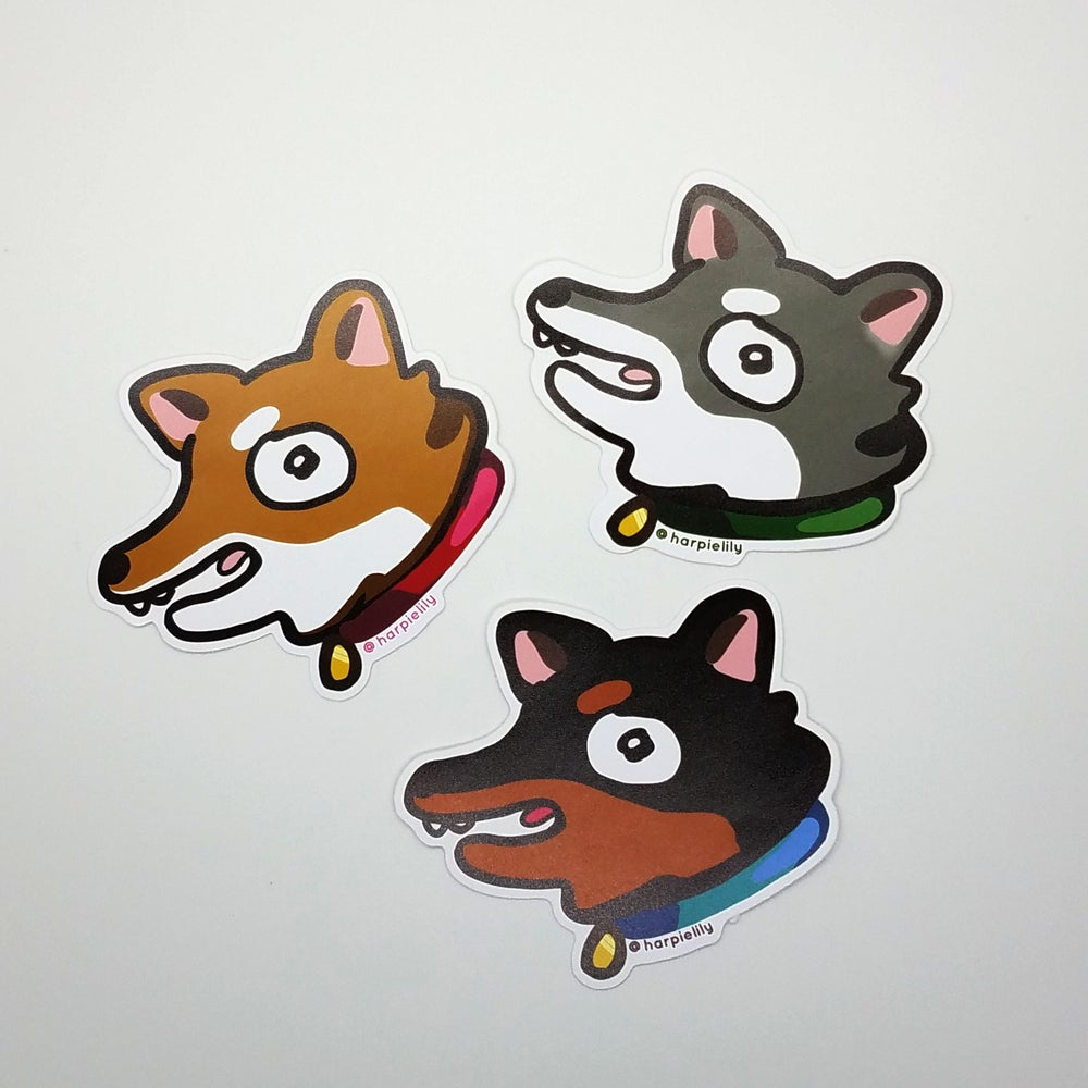 Image of Hyper Doggo vinyl sticker