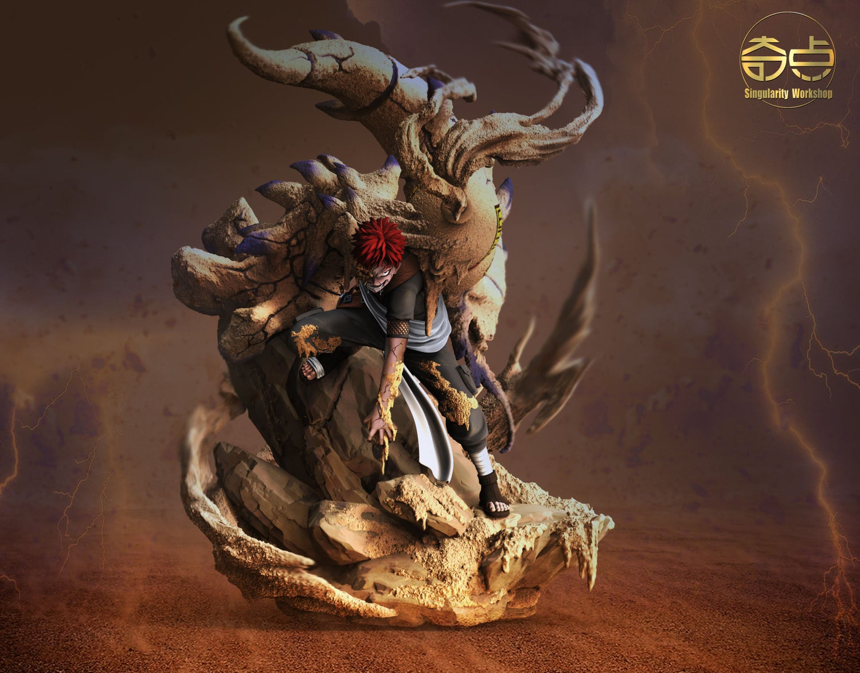 Image of [Pre-Order]Naruto Singularity Workshop Gaara 1:7 Resin Statue