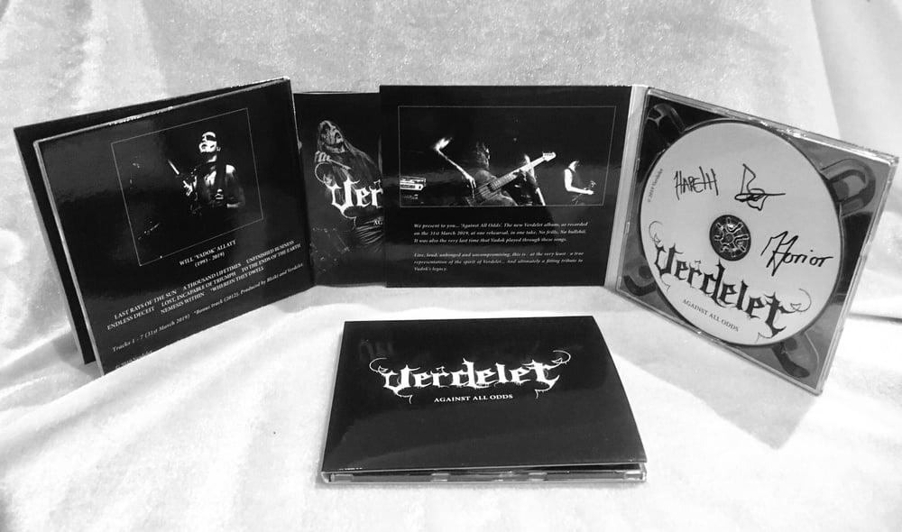 Image of Verdelet - Against All Odds CD (2019)