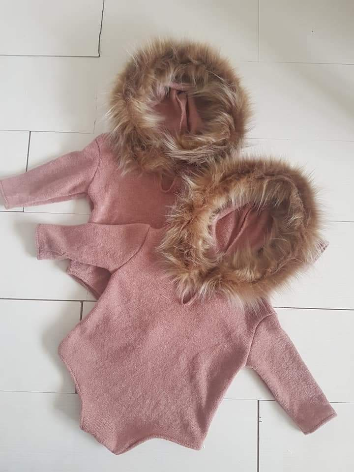 Image of Eskimo sitter rompers. Preorder