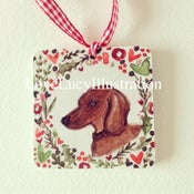 Image of Personalised Pet Christmas Decoration