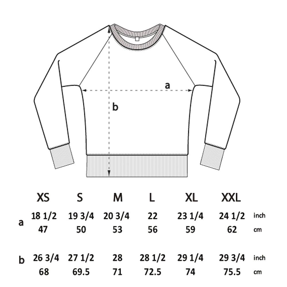 Image of Paper Cut Black Twist Sweatshirt (Organic)