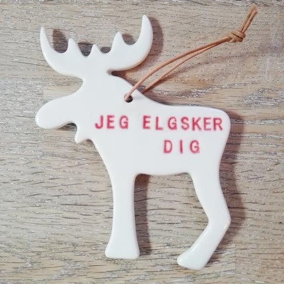 Image of Elg, ophæng.