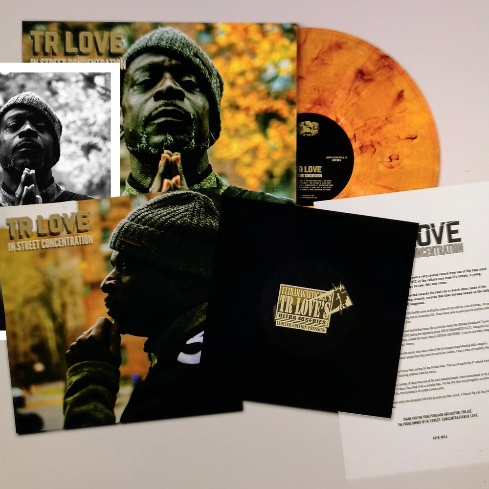 Image of TR LOVE - IN STREET CONCENTRATION LIMITED EDITION SPECIAL LP +45
