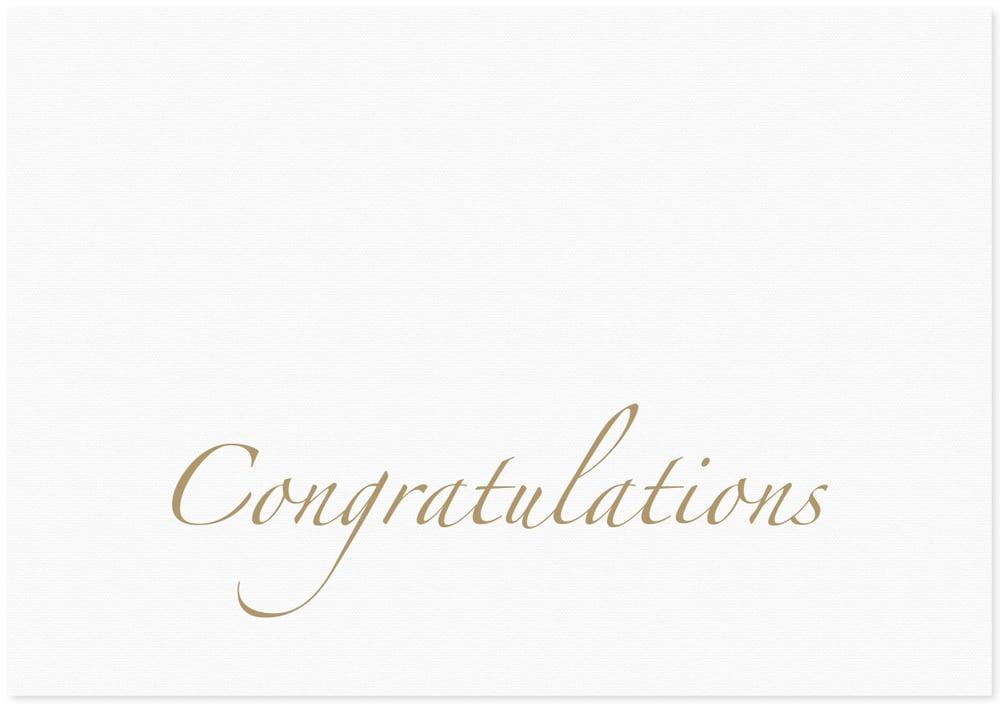 Image of congratulations