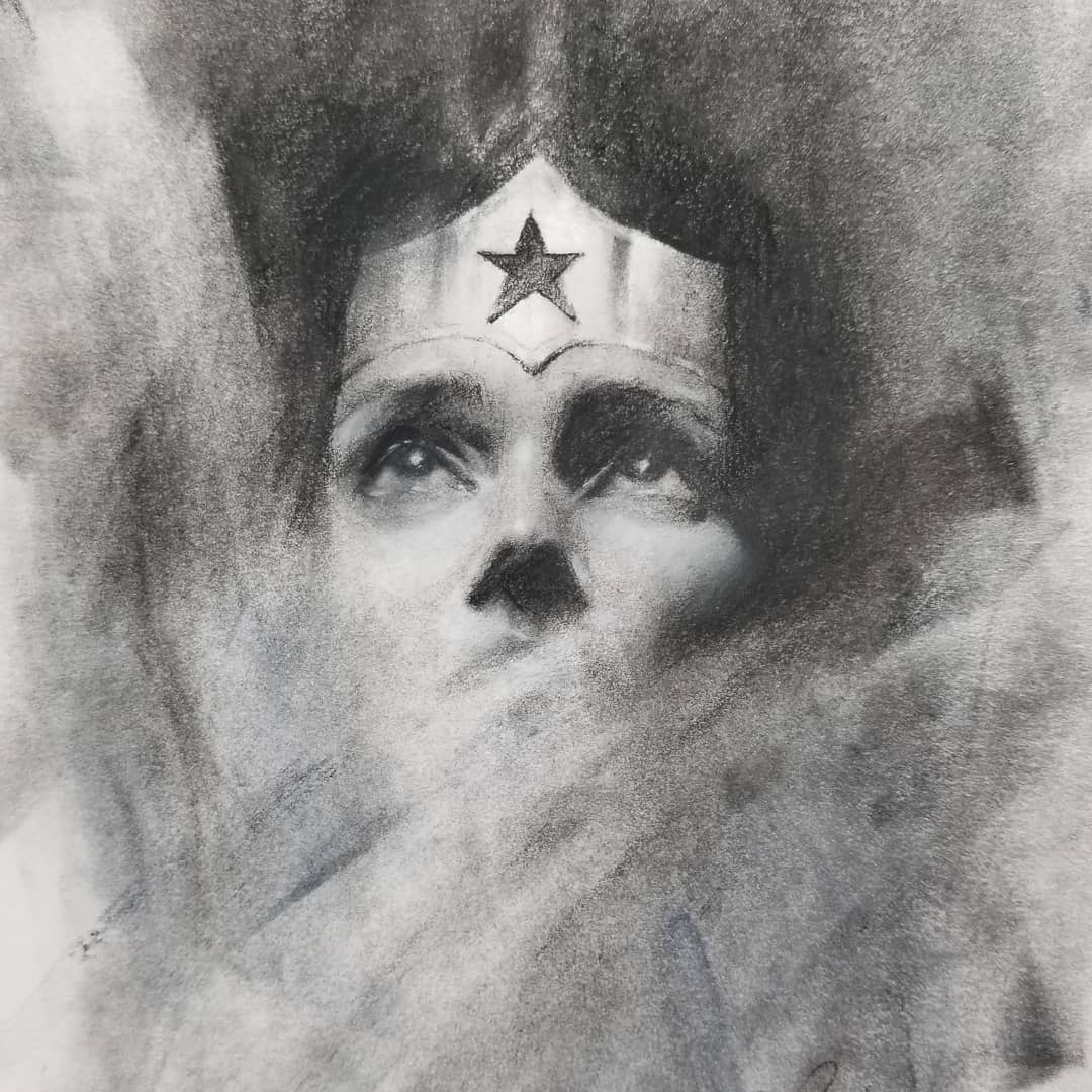 Image of Wonder Woman prints