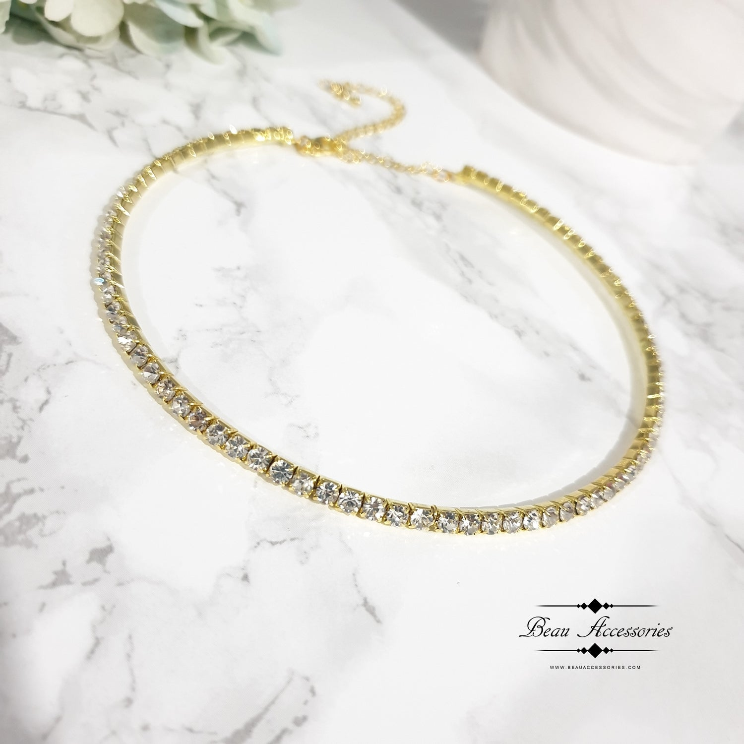 Image of Golden Single Choker