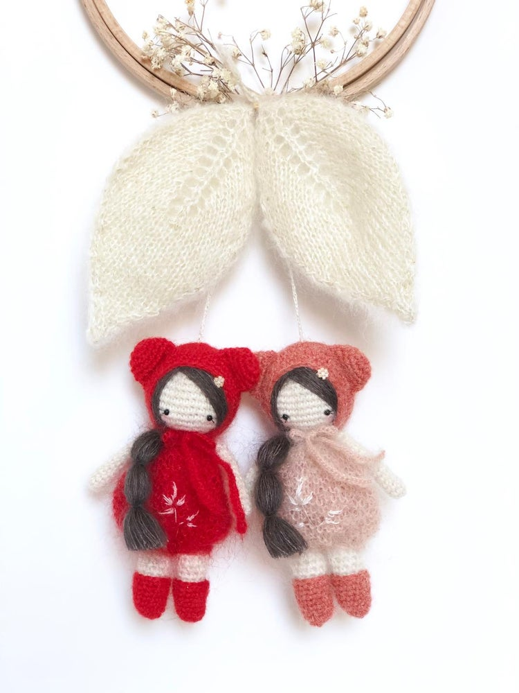 Image of Duo Mini Pom' LES CERISETTES (nuances fruitées)
