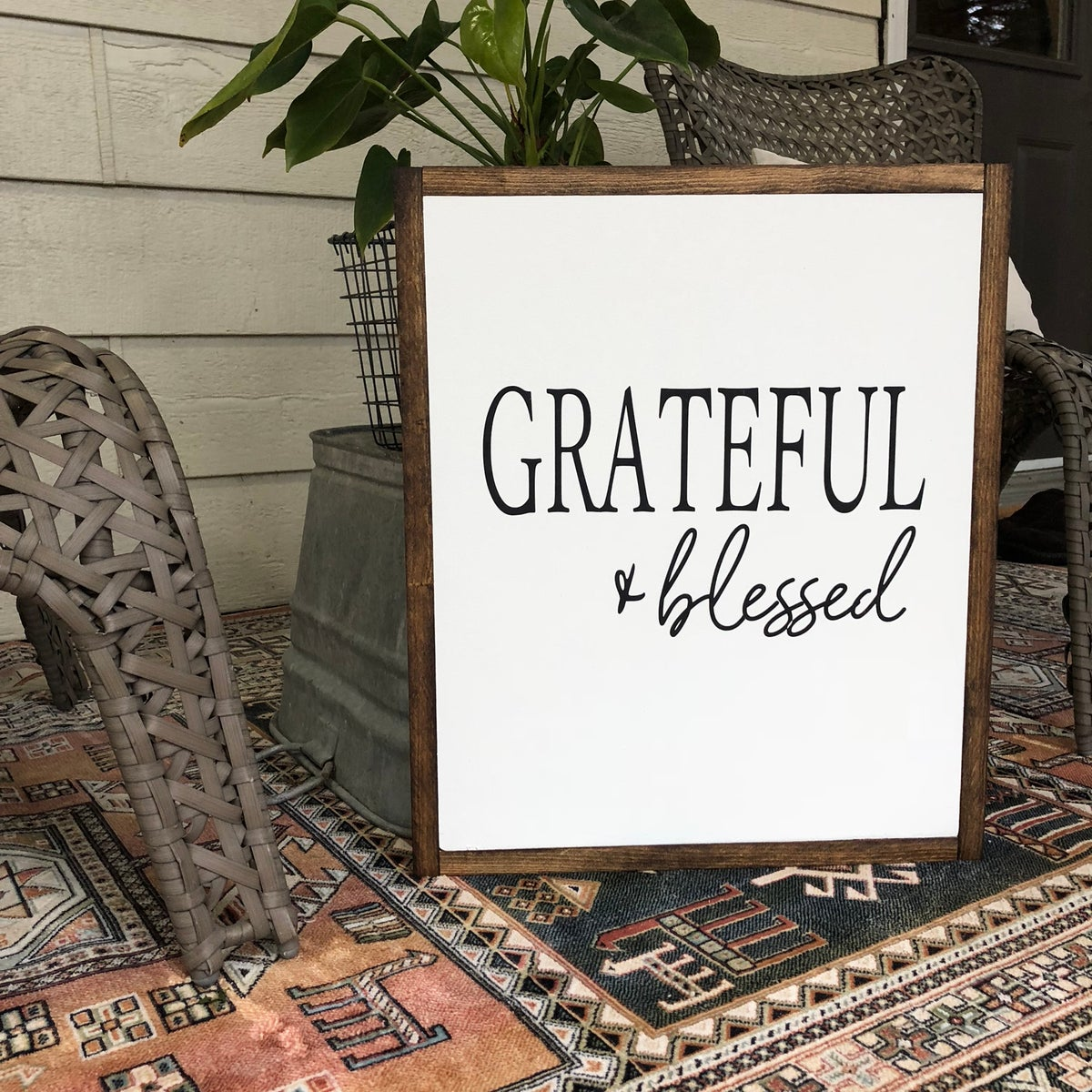 Image of Grateful + Blessed