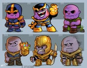 Image of Evolution of Thanos