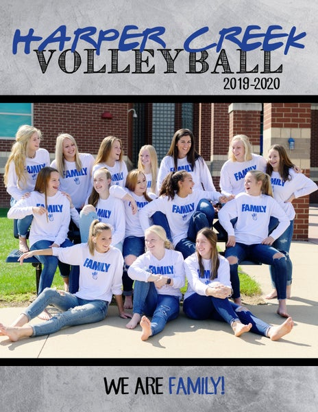 """Image of HCVB """"Family"""" Volleyball 2019 Program Package"""