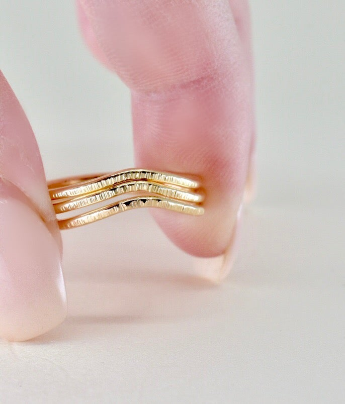 Image of Little Peak Ring in 14k Gold Filled