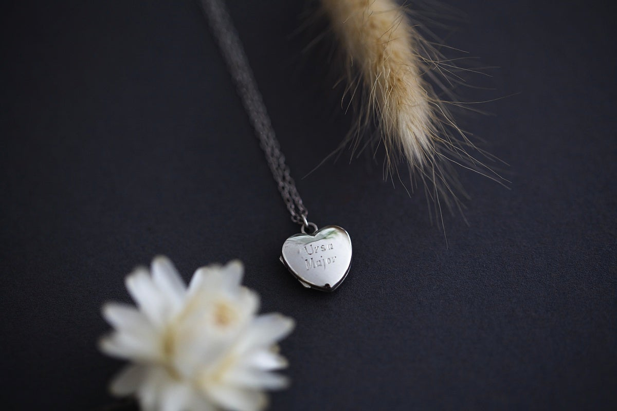Image of 'Ursa Major' little heart locket