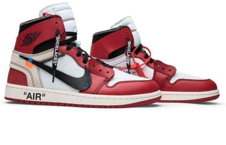 OFF-WHITE x Air Jordan 1 Retro High 'Chicago'