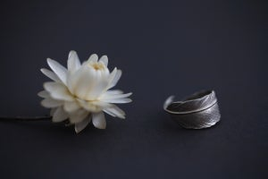 Image of Quill Ring (in 9ct gold or silver)